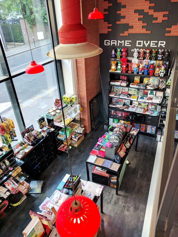 Manga Café V2 intérieur concept store vue de haut 2