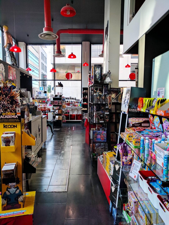 Manga Café V2 interieur RDC 2