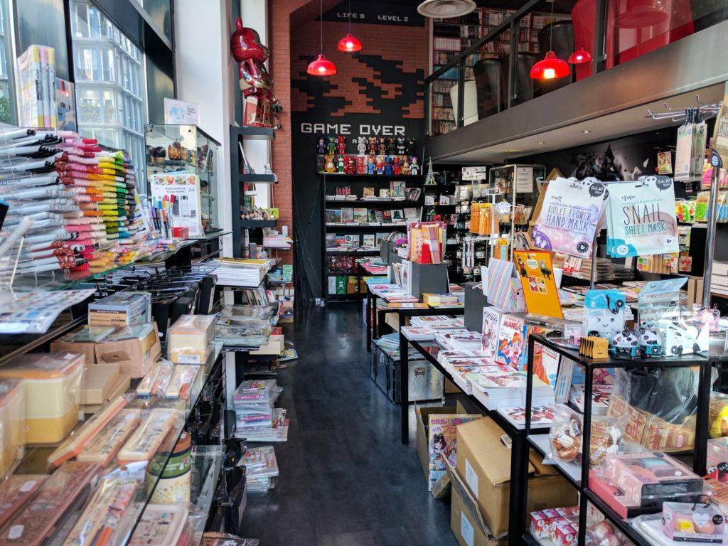 Manga Café V2 interieur RDC concept store