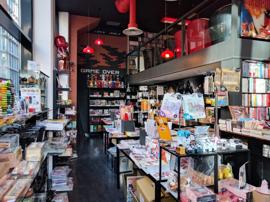 Manga Café V2 interieur RDC concept store 2