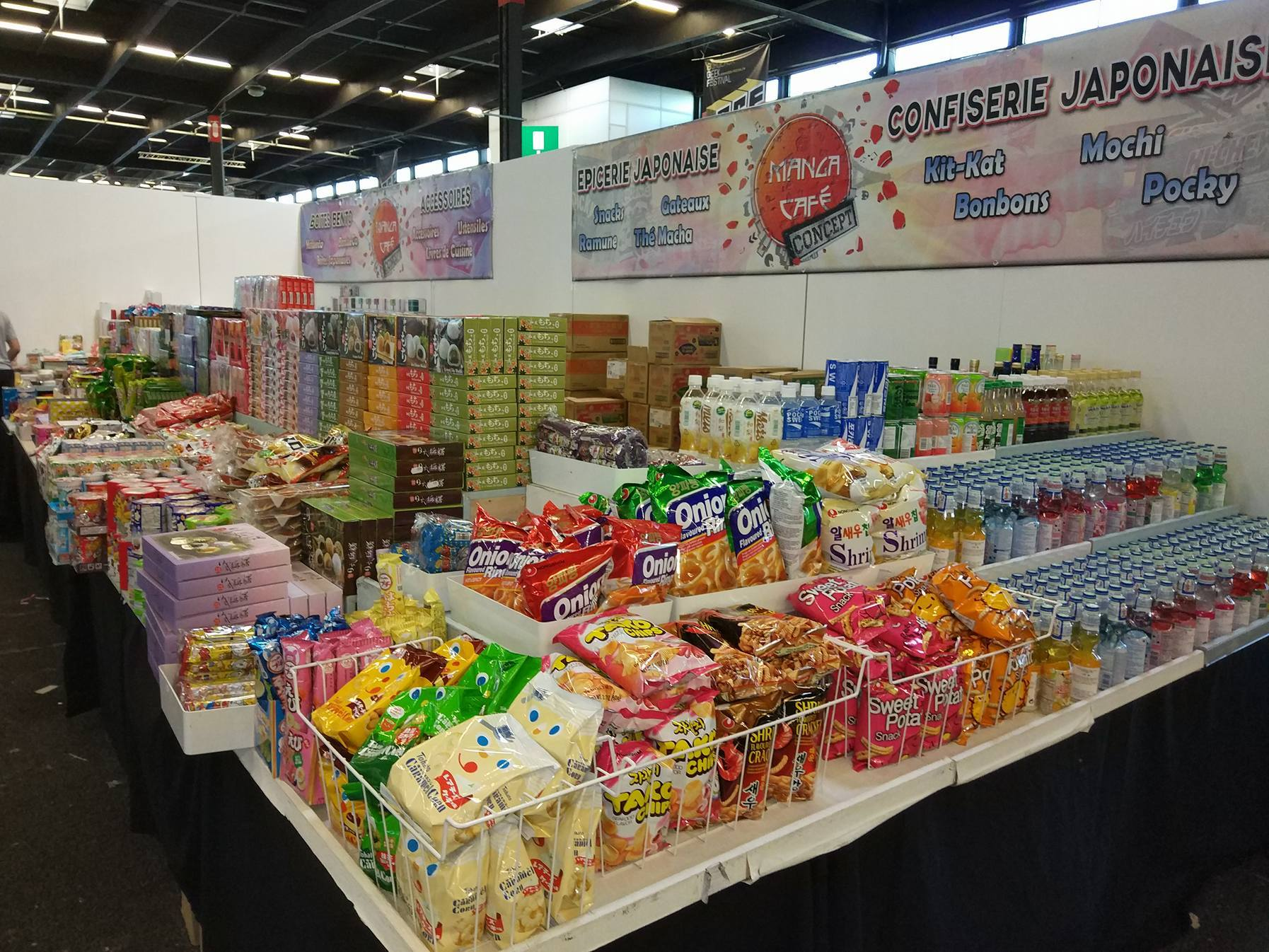 Stand snacks Japonais