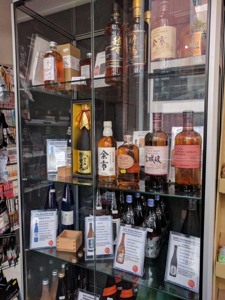 armoire à alcools jap