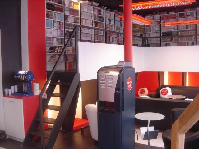 Manga Café V1 première salle