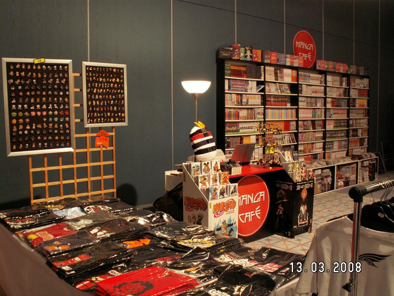Stand Manga Café Deauville t-shirts