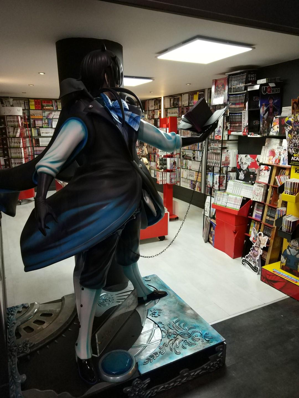 Manga Café V2 statue vanitas de dos