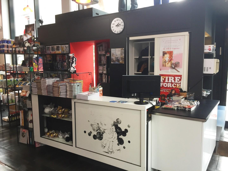 Manga Café V2 - comptoir