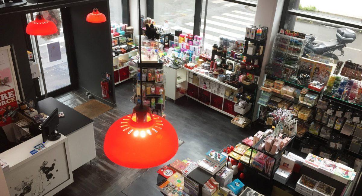 Manga Café V2 interieur RDC entrée